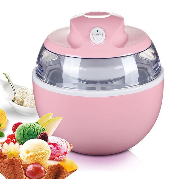 Ice Cream Machine Portable Yogurt Machine Dual Use Easy To Operate Home 220v Automatic Ice Cream Maker Wish