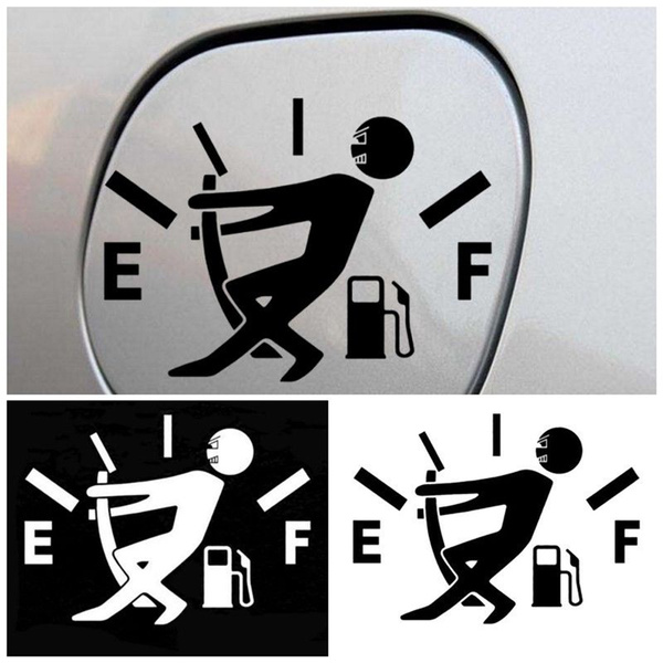 Funny, fueltank, autosticker, Car Sticker