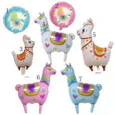 Kawaii, cute, lovelyballoon, alpaca
