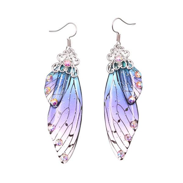 butterfly, Jewelry, fairy, Drop