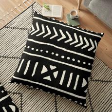 Home Decor, decorativepillowcase, africanmudclothblackandwhite, sofacushionpillowcase