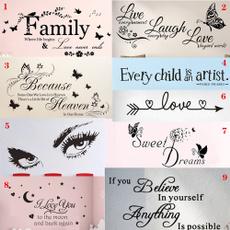 familysticker, PVC wall stickers, livelaughlovewallsticker, Love