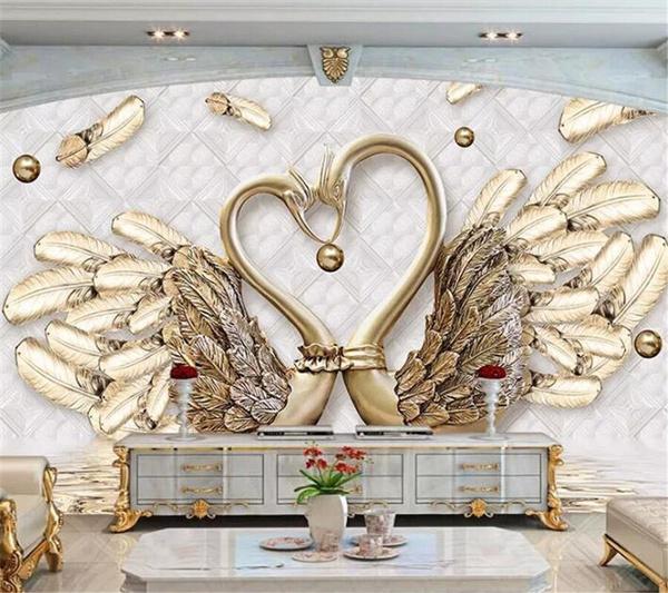 Decorative, swan, leaf, Jewelry
