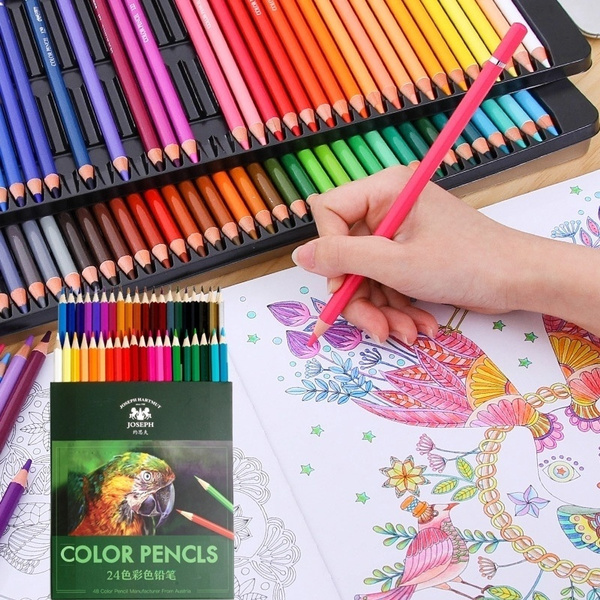 pencil, sketch, Office, Colorful