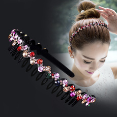 hairpinwomen, hairstyle, Flowers, lover gifts