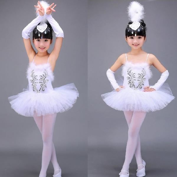 Toddler Girls Ballet Dance Wear Ballet Tutu Outfit Skate Dress Baby Girl Dress