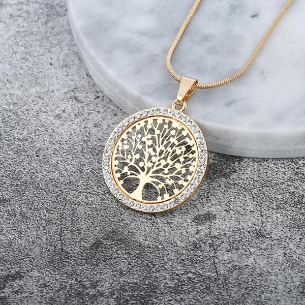 Jewelry, gold, Elegant, Tree