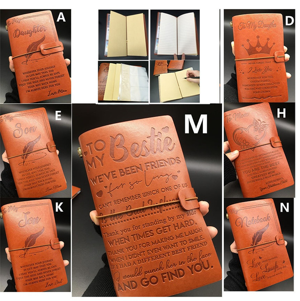 lover gifts, Family, leather, leathernotebookgift