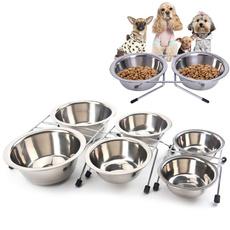 Steel, puppybowl, pet bowl, puppy