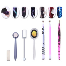 cateyegel, Nails, magneticnailpolish, eye