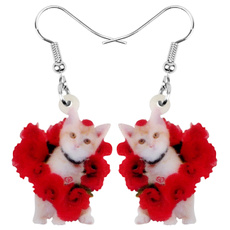 Girlfriend Gift, earringsforgirl, Kitten, Earring