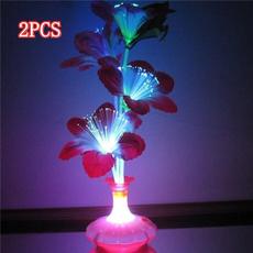 Fiber, bedsidelampsbedroom, Colorful, fiberflower