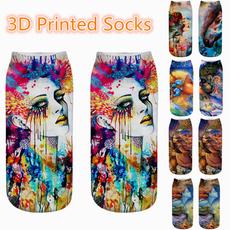 graffitisock, Summer, Girlfriend Gift, Cotton Socks