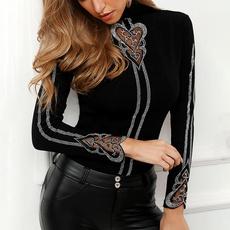 blouse, fall clothes women, Fashion, long sleeve blouse