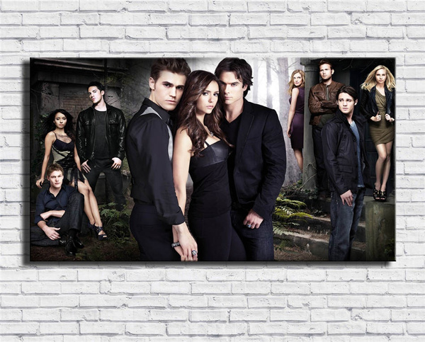 vampirediarie, canvasart, Wall Art, Home Decor