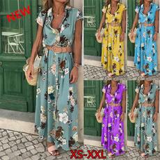 onvacation, long skirt, decorativepattern, fashion dress