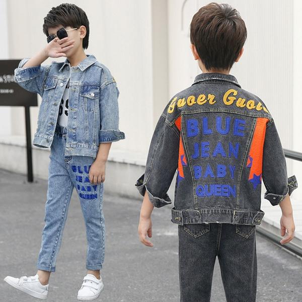 Fashion, Coat, children's clothing, Denim