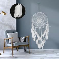 indiancraft, feather, Home Decor, largedreamcatcher