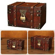 Storage Box, Box, retrotreasurechest, Jewelry
