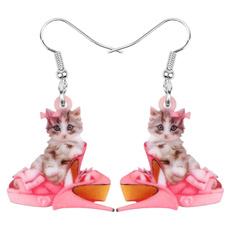 catgift, earringsforgirl, Sweets, catjewelry