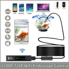 Mini, borescope, usb, Cable