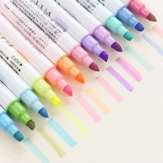 highlighterpen, Kawaii, School, fluorescentpen