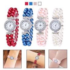 crystaldiamondwatch, quartz, Bracelet Watch, Watch