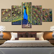peacock, muraldecal, Home Decor, Posters