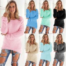 Fashion, Winter, Irregular, Long Sleeve
