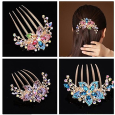 Flowers, hair jewelry, headwear, Combs