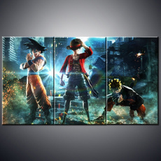 Dragonball, gameart, canvaspainting, Posters