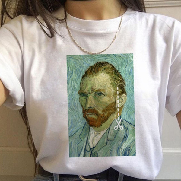 Funny, white shirt, Vans, Cotton T Shirt