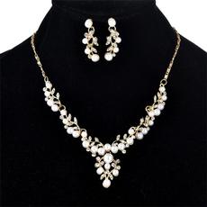 leaf, Ladies Fashion, Gifts, pearls