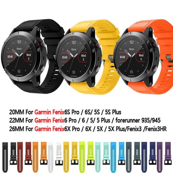 garminfenix3band, garminwatchband, garminfenix5xband, Silicone