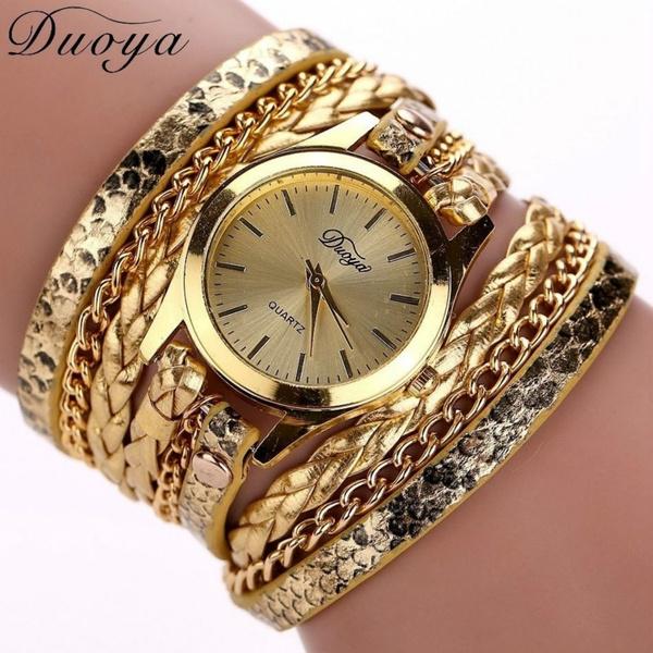 Jewelry, fashion watches, leather, quartz watch