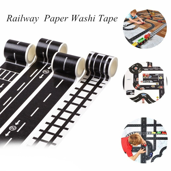 railwaypaperwashitape, Toy, washitape, Office & School Supplies