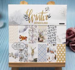 winterland, Scrapbooking, Winter, art