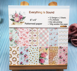 art, Flowers, Scrapbooking, craftpaper
