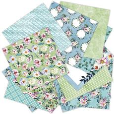 patterned, Flowers, Scrapbooking, Love