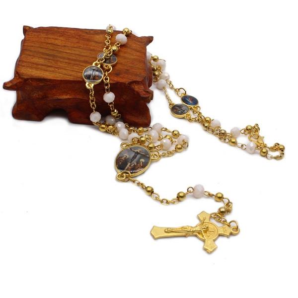 beadnecklace, catholic, Fashion, Jewelry