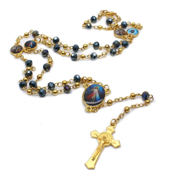 beadnecklace, catholic, Fashion, Jewelry Accessories
