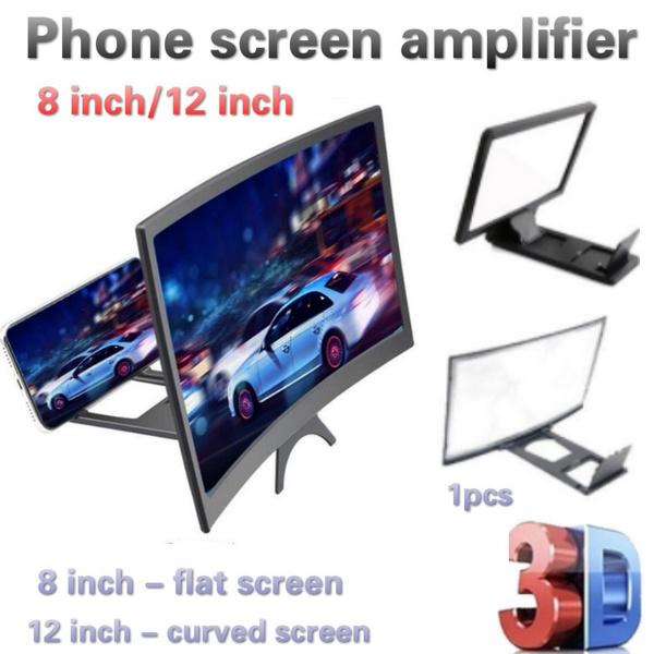 screenmagnifier, mobilephonebracket, Mobile Phones, screenamplifier