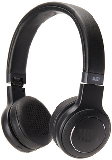 Headphones, jblduetbtblk, Bluetooth, black