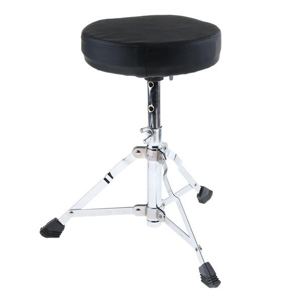 Stool, foldabledrummerchairstool, drumpaddedstoolthrone, Parts & Accessories