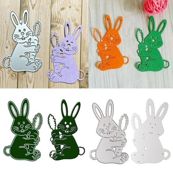 bunnycuttingdie, easterdiycraft, rabbitcuttingdie, radishcutter