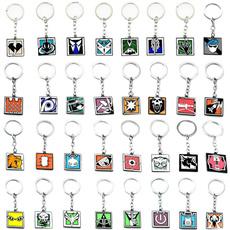 rainbow, keychainskeyring, Key Chain, Jewelry
