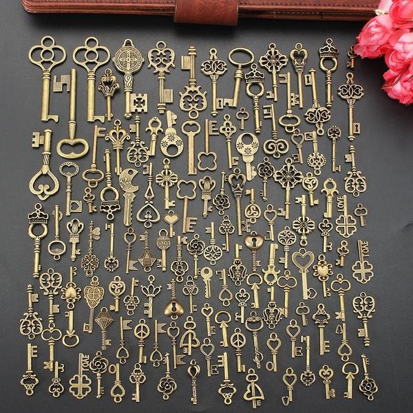 skeletonkeyring, Jewelry, unisex, Vintage