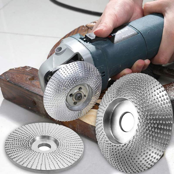 SDY-SDY Woodworking kit Angle Grinder Carving Disc Wood Grinding Wheel Sanding Abrasive Disc 100x16mm durable Drill