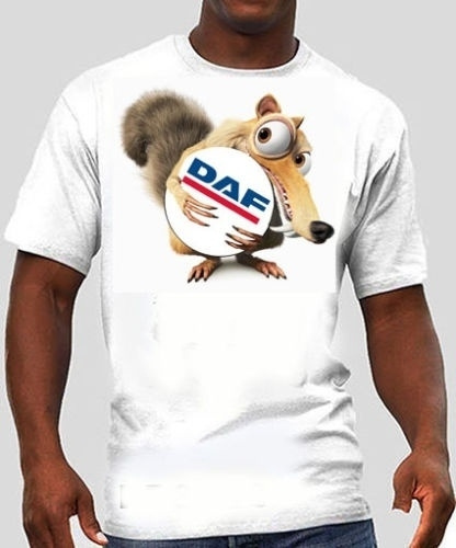 daf, Fashion, Cotton T Shirt, Sports & Outdoors