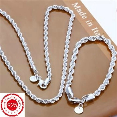 Sterling, Chain Necklace, Jewelry, 925solidsilver